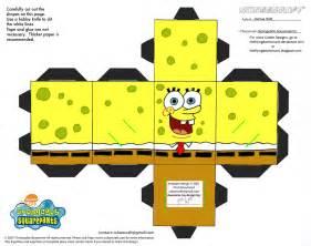Spongebob Papercraft - ss spongebob squarepants cubee by theflyingdachshund on