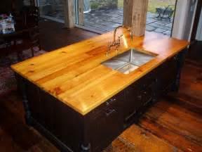 premium wide plank wood countertops custom