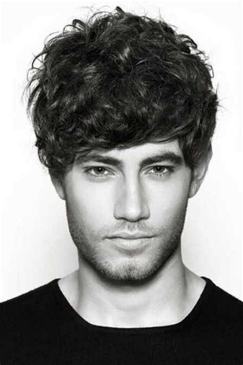 hairstyles for thin wiry curly hair men 20 short curly hairstyles for men mens hairstyles 2018