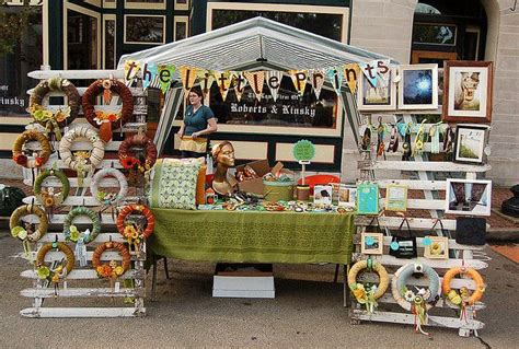 The Handmade Show - all set up flickr photo craft ideas