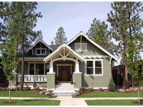 Craftsman Style House Plans One Story by Cozy Craftsman Style House Plans One Story House