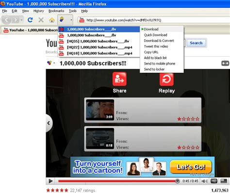 download youtube helper download youtube with downloadhelper firefox plugin