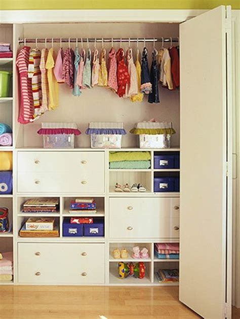 best closet design ideas small kids closet with colorful variation