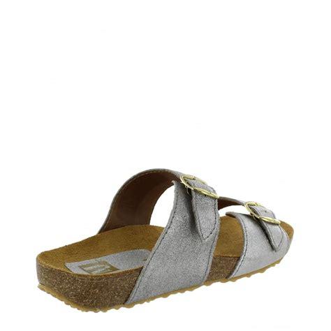 sandal sandal docmart silver marta jonsson womens footbed sandal 1010l s silver