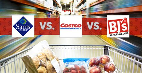Best Warehouse Store: Costco, Sam's Club and BJ's Wholesale