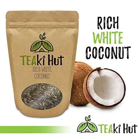 The Teaki Hut Teaki Hut Rich White Coconut Tea 2oz Organic Leaf