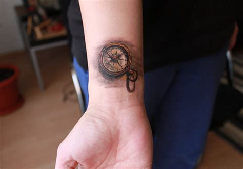 compass tattoo on wrist 34 astounding compass tattoo ideas creativefan
