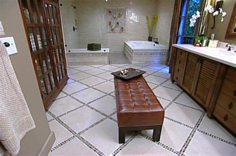 Spa Master Bathroom by Luxurious Spa Master Bathroom Hgtv