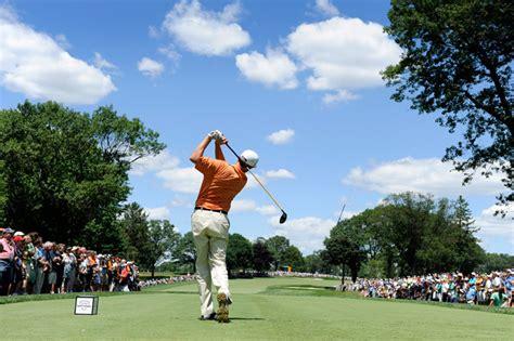 photo   day  att national golf tournament tees