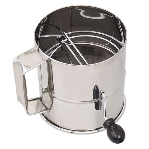 Flour Sifter browne 1260 sifter 3 lb flour sifter with handle mesh
