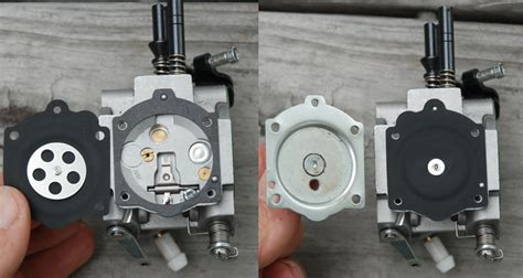 Walbro Vergaser Membran Wechseln walbro wg 8 carb disassembly
