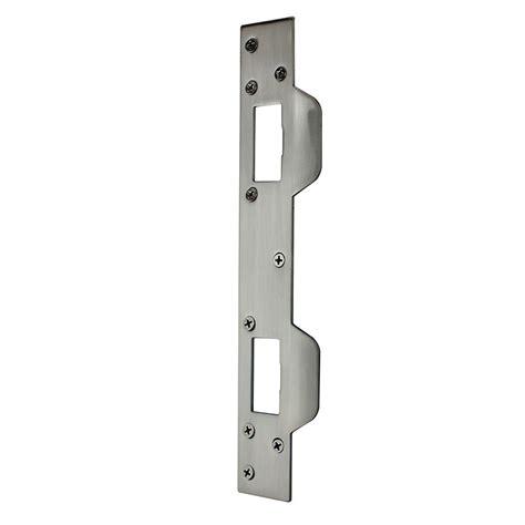 Home Depot Door Latch by Glide 3 In X 2 In Satin Nickel Sliding Door Latch