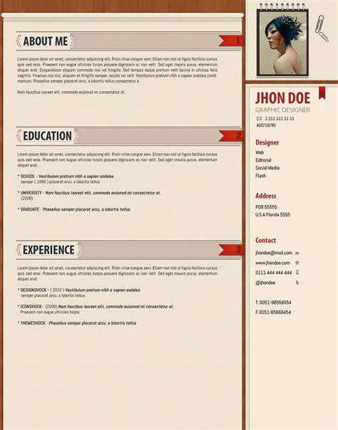 professional cv template word images
