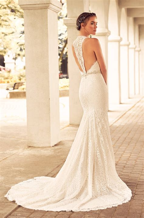 Shop Wedding Dresses By Style by Lace Racerback Wedding Dress Style 4795 Blanca