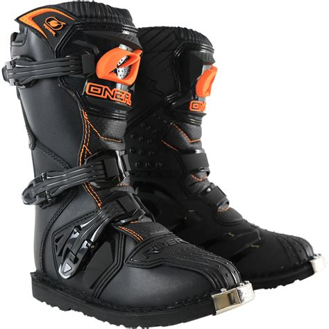 youth motorcycle boots oneal new 2017 kids mx rider dirt bike cheap black orange