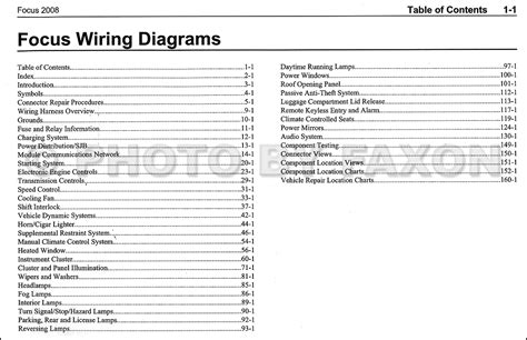 focus wiring diagram focus wiring diagram pdf mifinder co