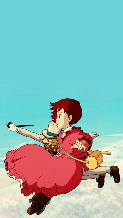 studio ghibli gifs whisper   heart phone wallpapers