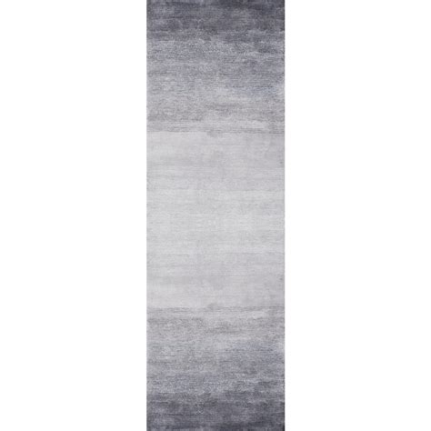 10 x 13 ombre rug nuloom ombre bernetta grey 3 ft x 10 ft runner rug