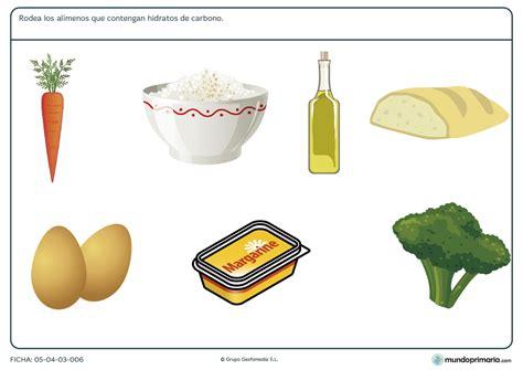 alimentos que contengan hidratos de carbono ficha de los alimentos altos en hidratos de carbono para
