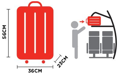 dimensions for cabin luggage bring your essentials onboard cabin baggage airasia