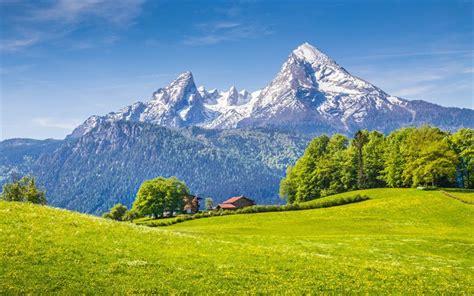 wallpapers berchtesgaden alps  mountains