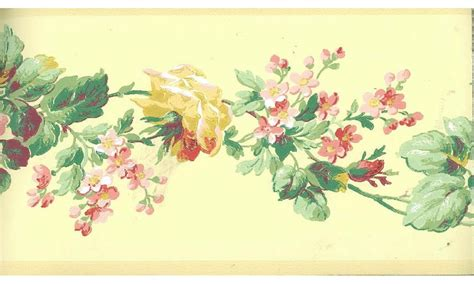 yellow floral wallpaper for walls yellow rose floral wallpaper border
