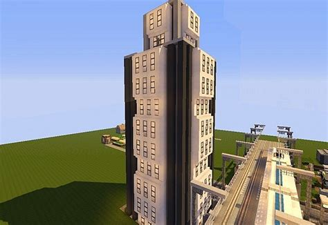 Minecraft Office Building by Modern Office Building Minecraft Project