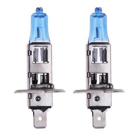 Lu Mobil Halogen H7 12v 55w 2pcs 2pcs 12v h1 55w xenon white halogen headlight globes
