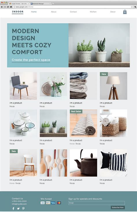 home decor website 10 free creative website templates with killer design