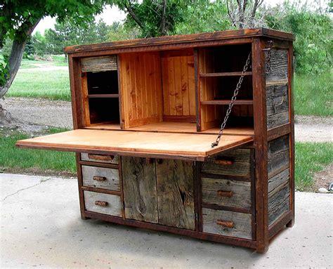Barnwood Desk by Rustic Barnwood Desks Computer Fold And Seven