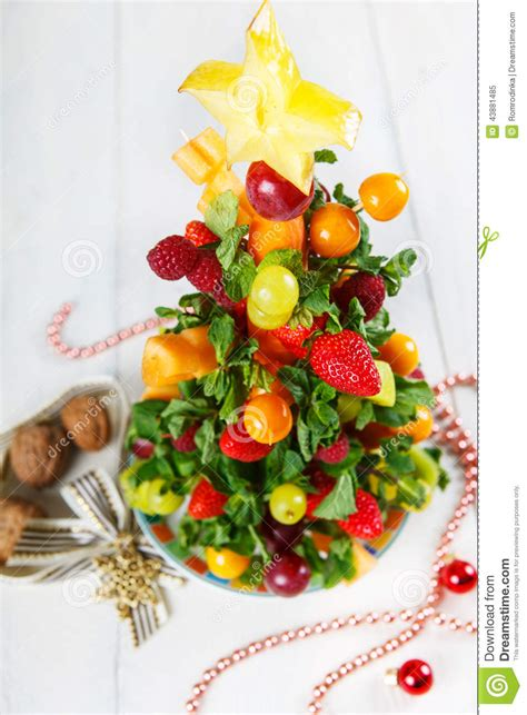 new year fruit tree creative fruit tree with different berries