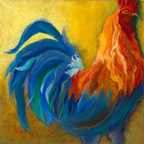 carrollwood artist paints roosters to tell political satire tbo