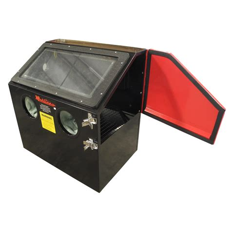 benchtop abrasive blast cabinet redline re28 benchtop abrasive sand blasting cabinet