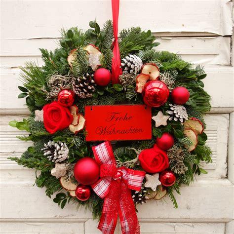 deko weihnachten adventskranz adventskranz rot weihnachtsdekoration weihnachten deko