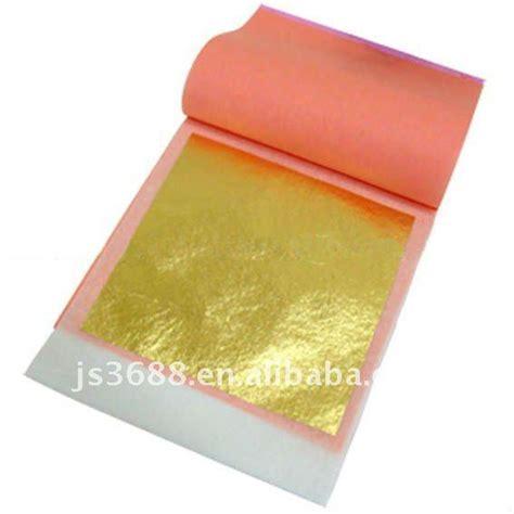 Gold Leaf Serum sale gold leaf paper 24k gold foil leaf for craft