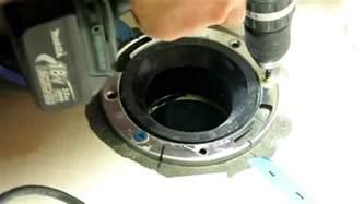 Remove Closet Flange by Toilet Closet Flange Concrete Repair