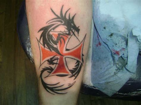 24 meaningful maltese cross tattoos
