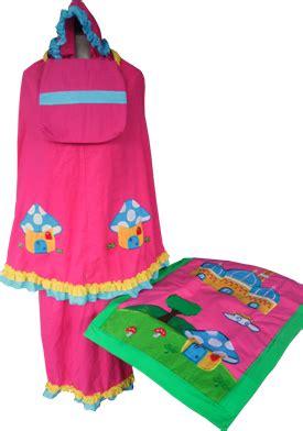 Mukena Anak Hello Bordir Pink Size L produsen sajadah anak mukena anak cantik dan sarung anak