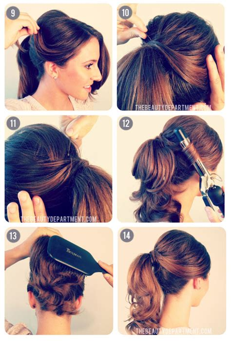 50s inspired updos 31 simple and easy 50s hairstyles with tutorials 50s hair styles miami plastic surgery blog bal harbour