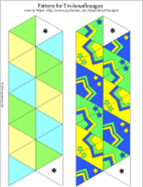 hexaflexagon template printable how to make a flexagon geometric toys to make