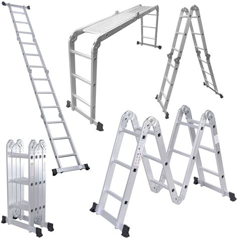 Multi Purpose Ladder 3 7 meter multi purpose aluminium ladder comxuk