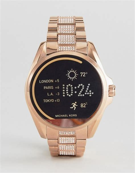 Smartwatch Mk michael kors michael kors access mkt5018 bradshaw bracelet smart in gold