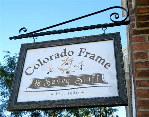 colorado frame savvy stuff home decor 2396 w st