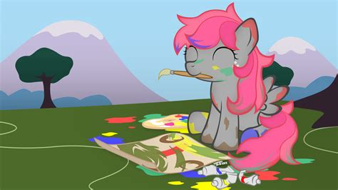 painting mlp mlp 2 cloud painting by symbianl on deviantart