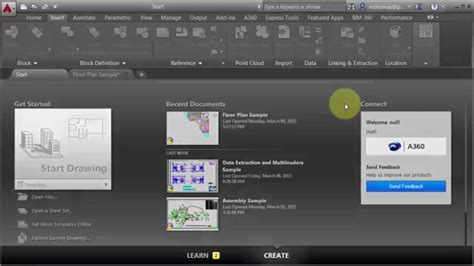 layout tabs missing autocad 2015 autocad 2016 user interface introduction videos