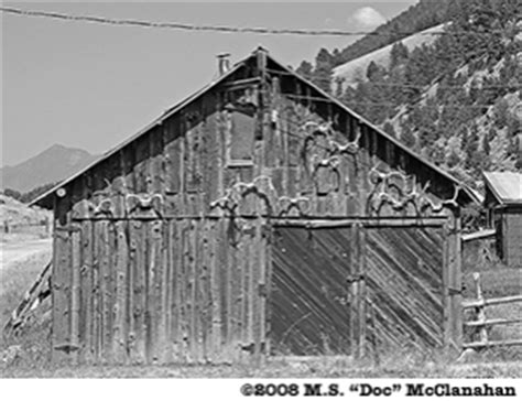 Chico Post Office by Chico Montana Ghost Town