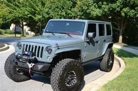2014 Jeep Rubicon Lifted Sell Used 2014 Jeep Wrangler Unlimited Rubicon Custom