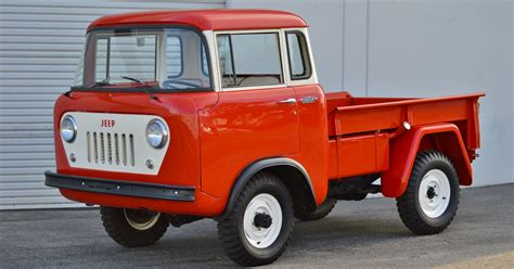 jeep fc150 jeep fc150 from 1959 up for auction on bring a trailer