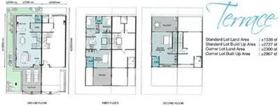 terraced house floor plan terraced house floor plan malaysia
