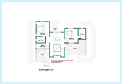 house plans 2000 square feet kerala 2000 sq feet contemporary villa plan and elevation